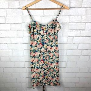 Urban Outfitters, Kimchi Blue, Floral Dress Ruffle